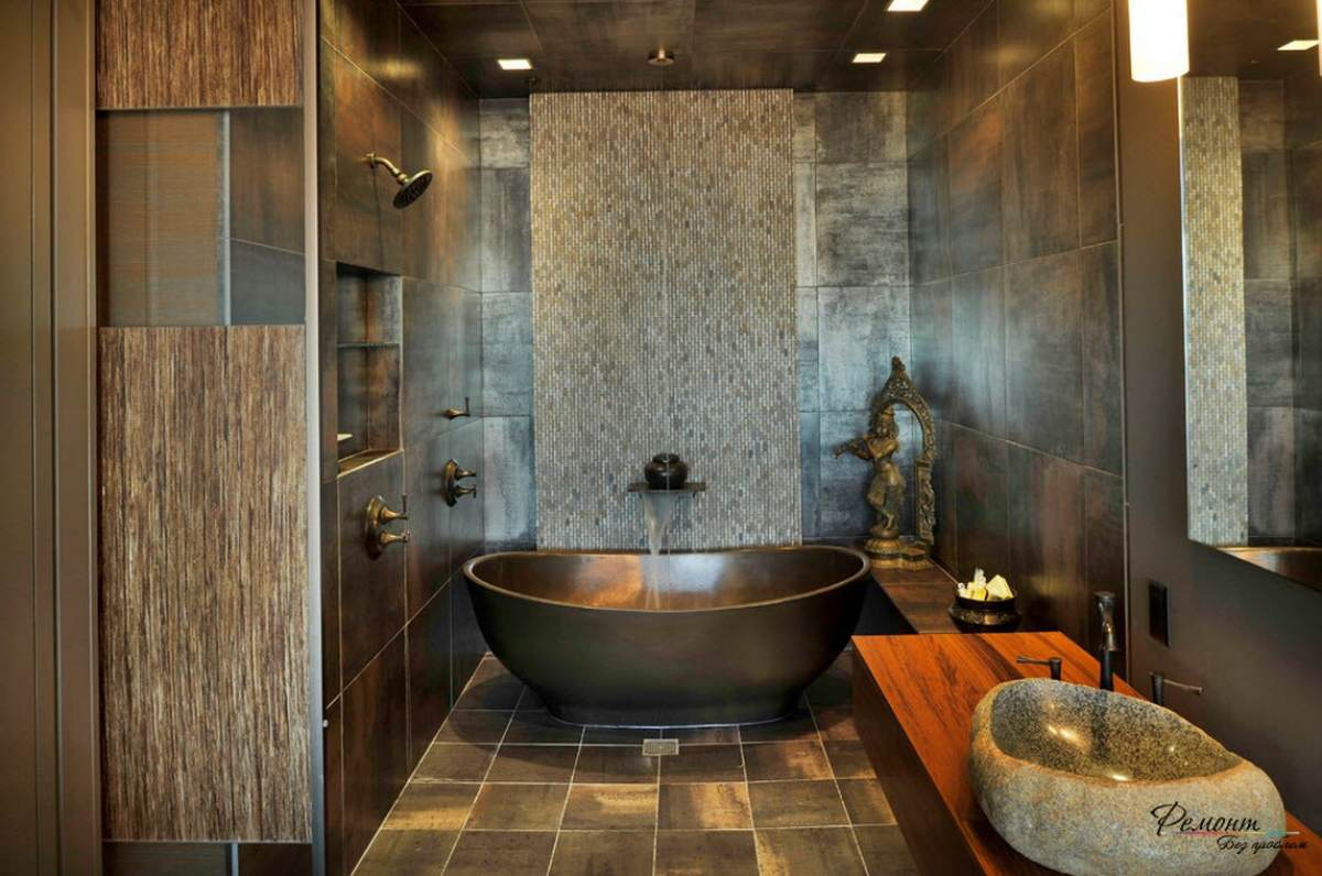 50 best wet room design ideas for 2018 wood stone and brown tile dailygadgetfo Image collections