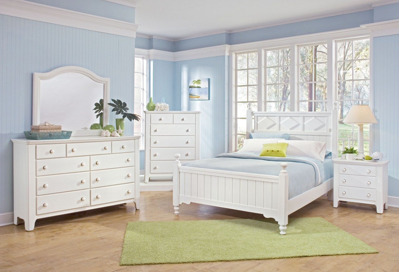 46 baby blue country beach style bedroom decor idea h