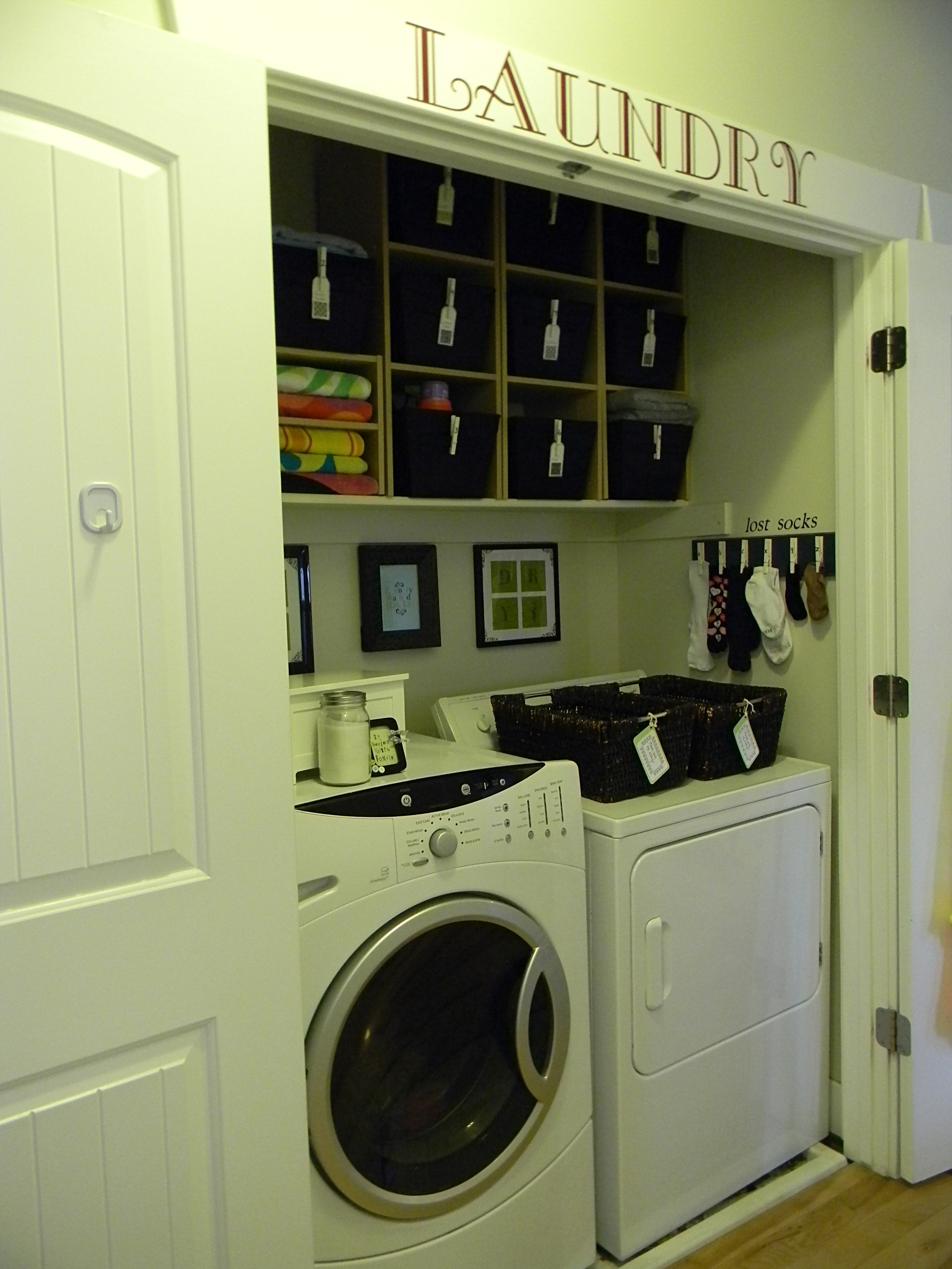Laundry Closet Anyone?