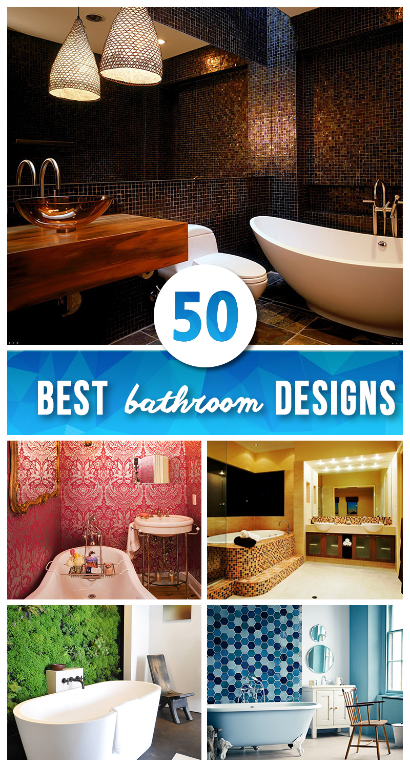 50 best bathroom design ideas for 2017 for Create your dream bathroom