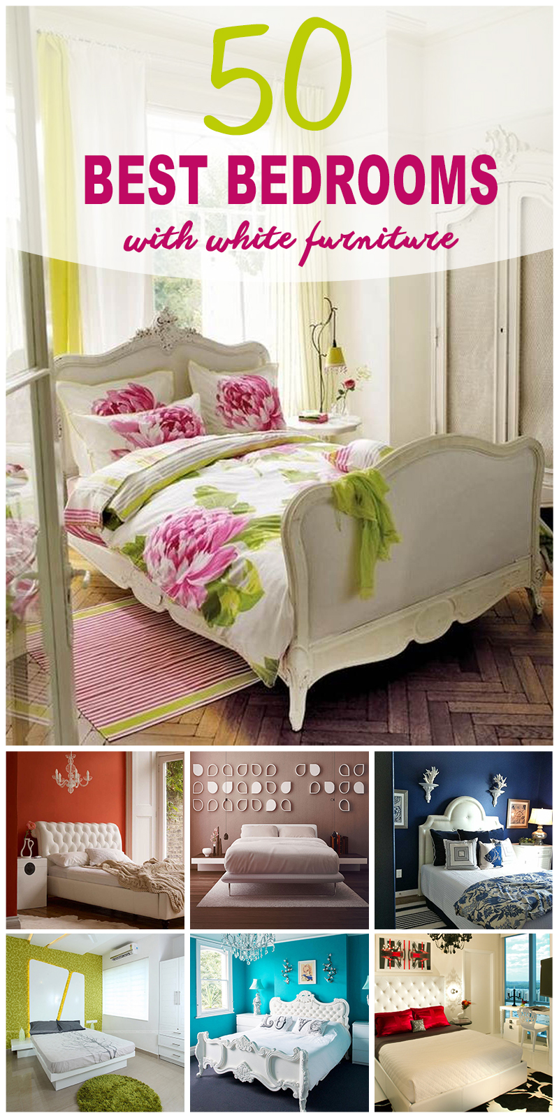 bedrooms with white furniture - Bedroom Ideas White Furniture