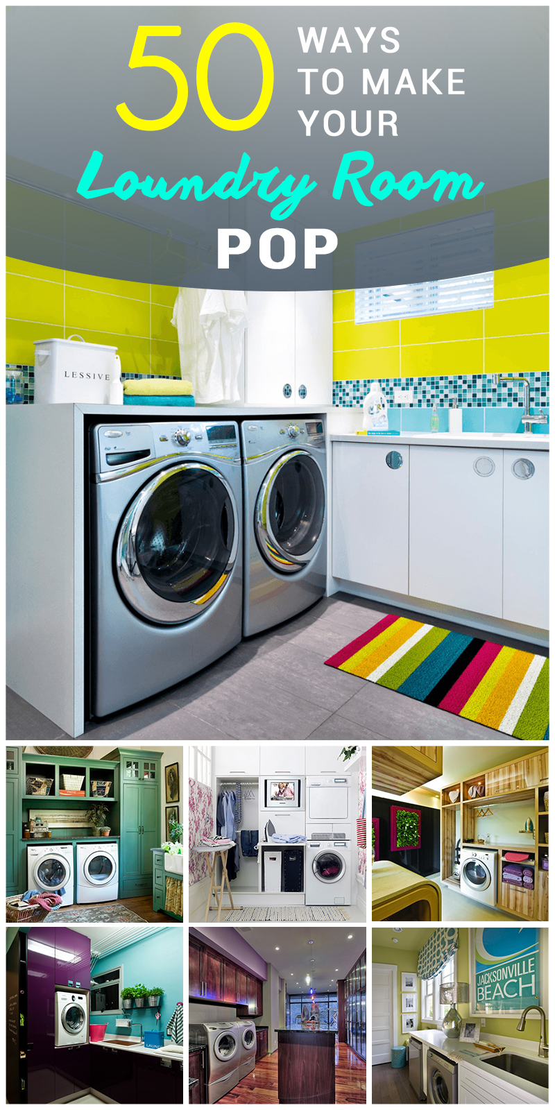 50 best laundry room design ideas for 2016 for Customize your room