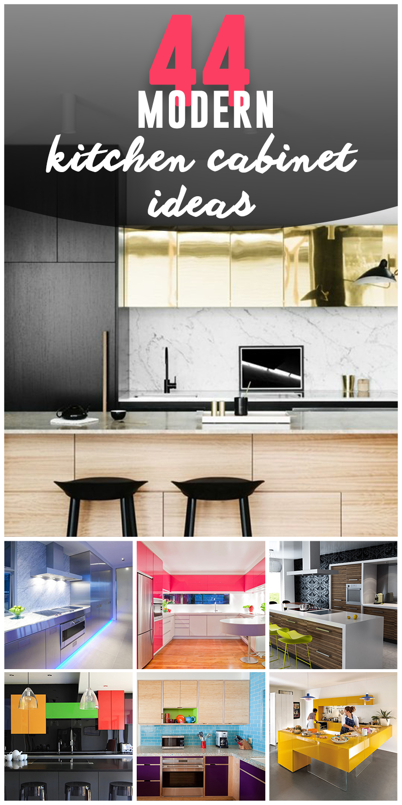 Modern Kitchen Cabinets Colors.44 Best Ideas Of Modern Kitchen Cabinets For 2019