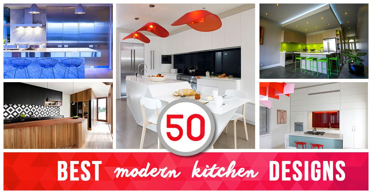 Modern Kitchen Design Ideas Intended 50 Best Modern Kitchen Design Ideas For 2018