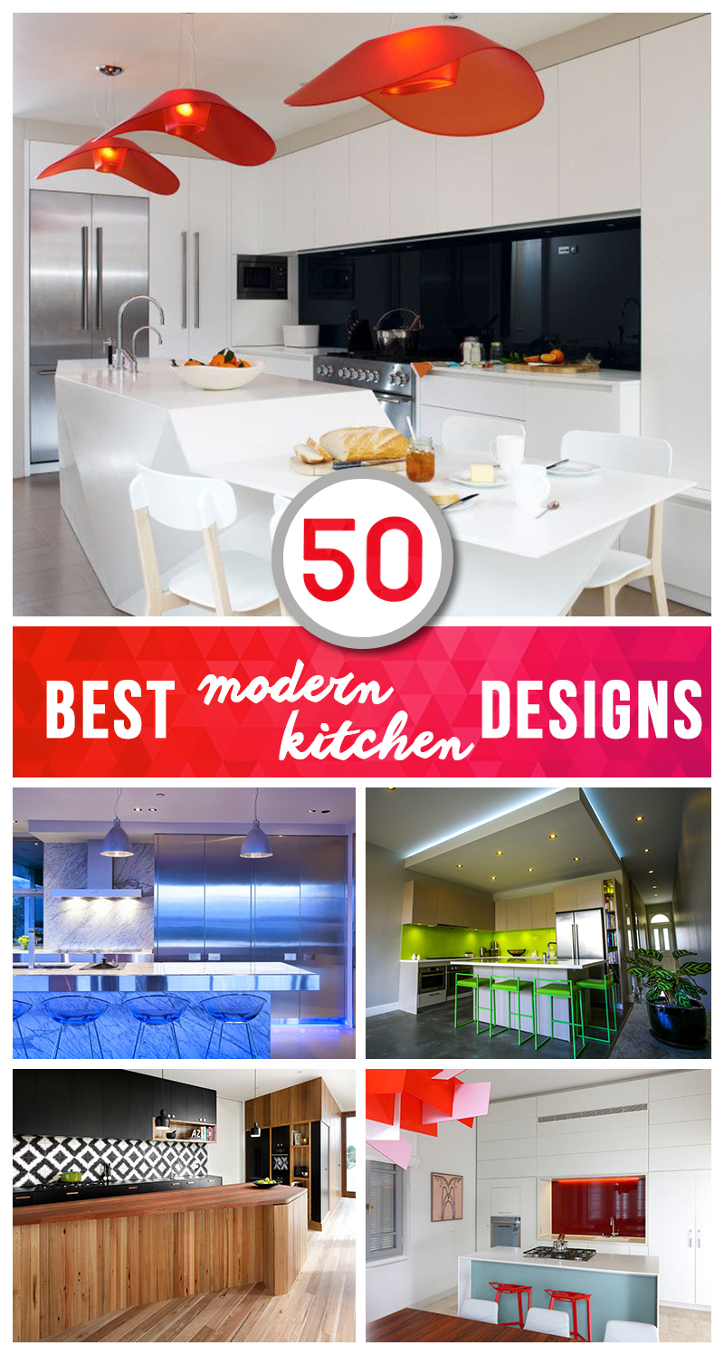 50 Best Modern Kitchen Design Ideas For 2016