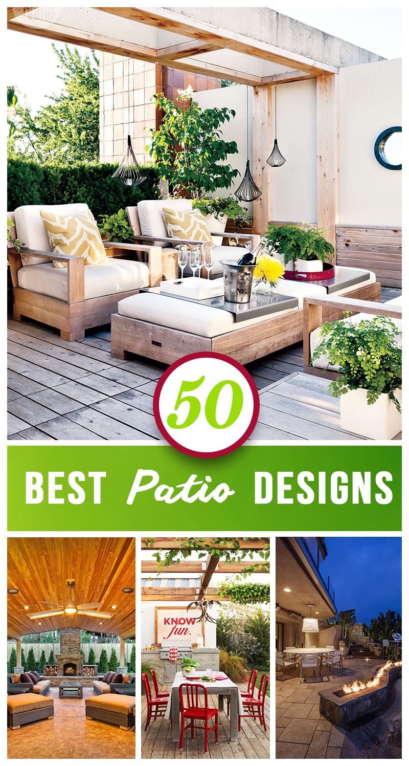 Best Outdoor Patio Designs