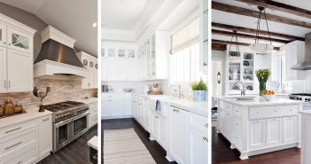 White Kitchen Cabinet Decor Ideas