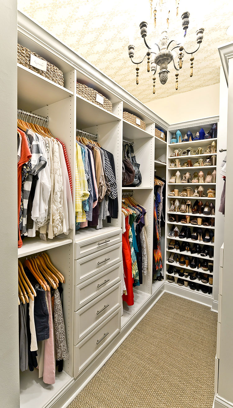 3 sophisticated solutions for storage - Master Closet Design Ideas