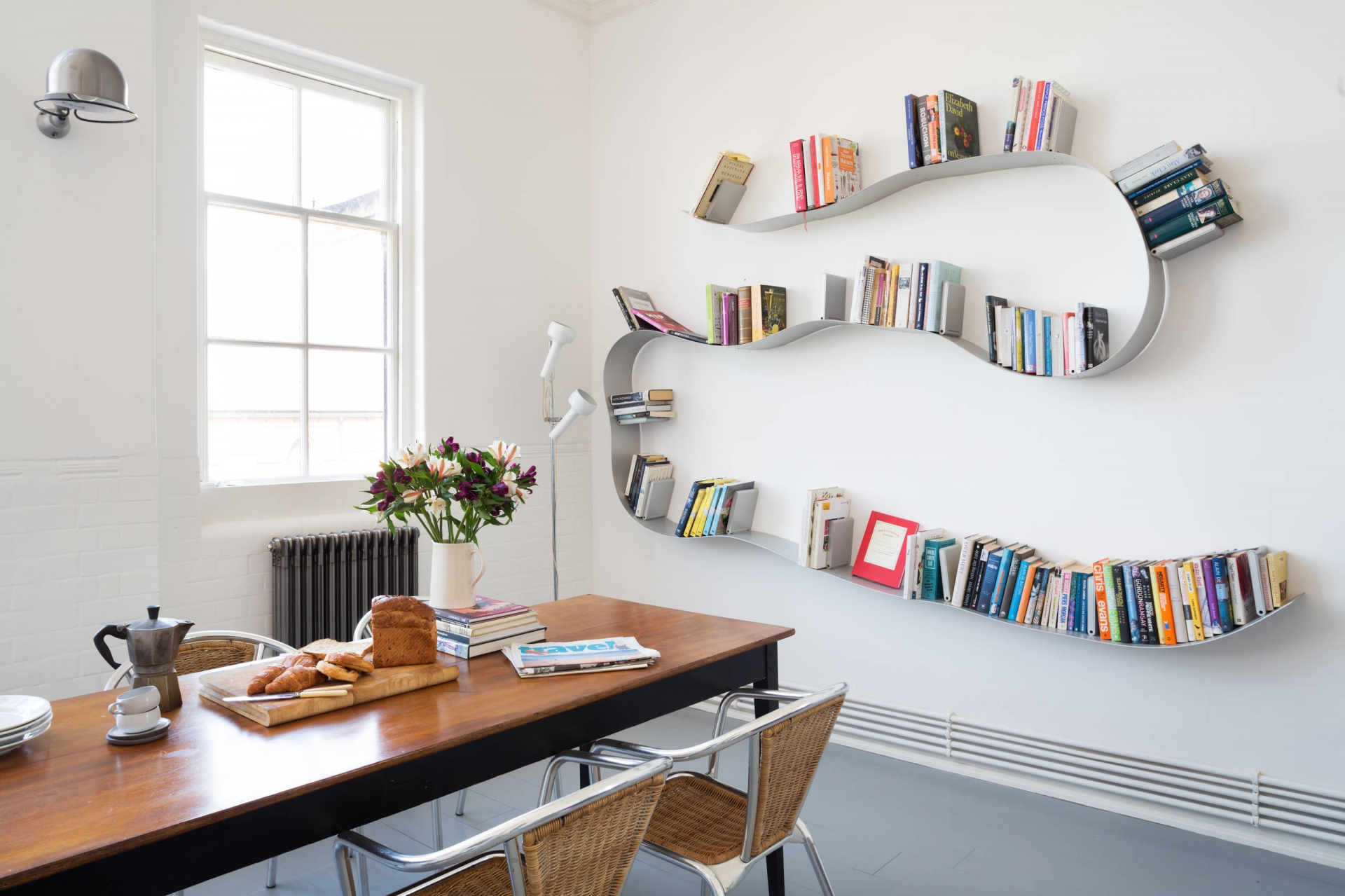 Bookshelf Ideas Part - 17: 6. Set On A Curve