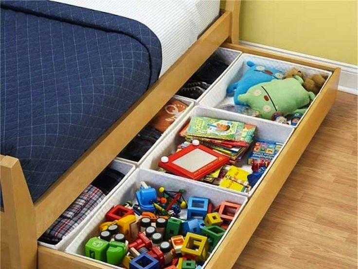 Slide Out Under The Bed Storage