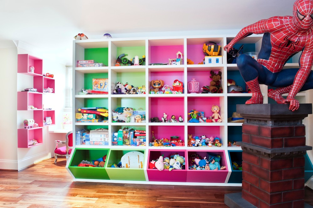 mine and yours toy storage - Kids Room Storage Ideas For Small Room