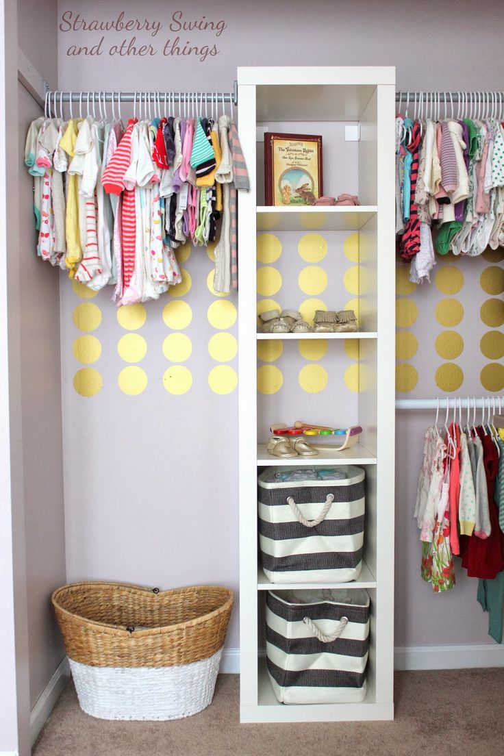 Small Closet Organization Ideas Part - 30: 20. A Sweet Surprise In This Nursery