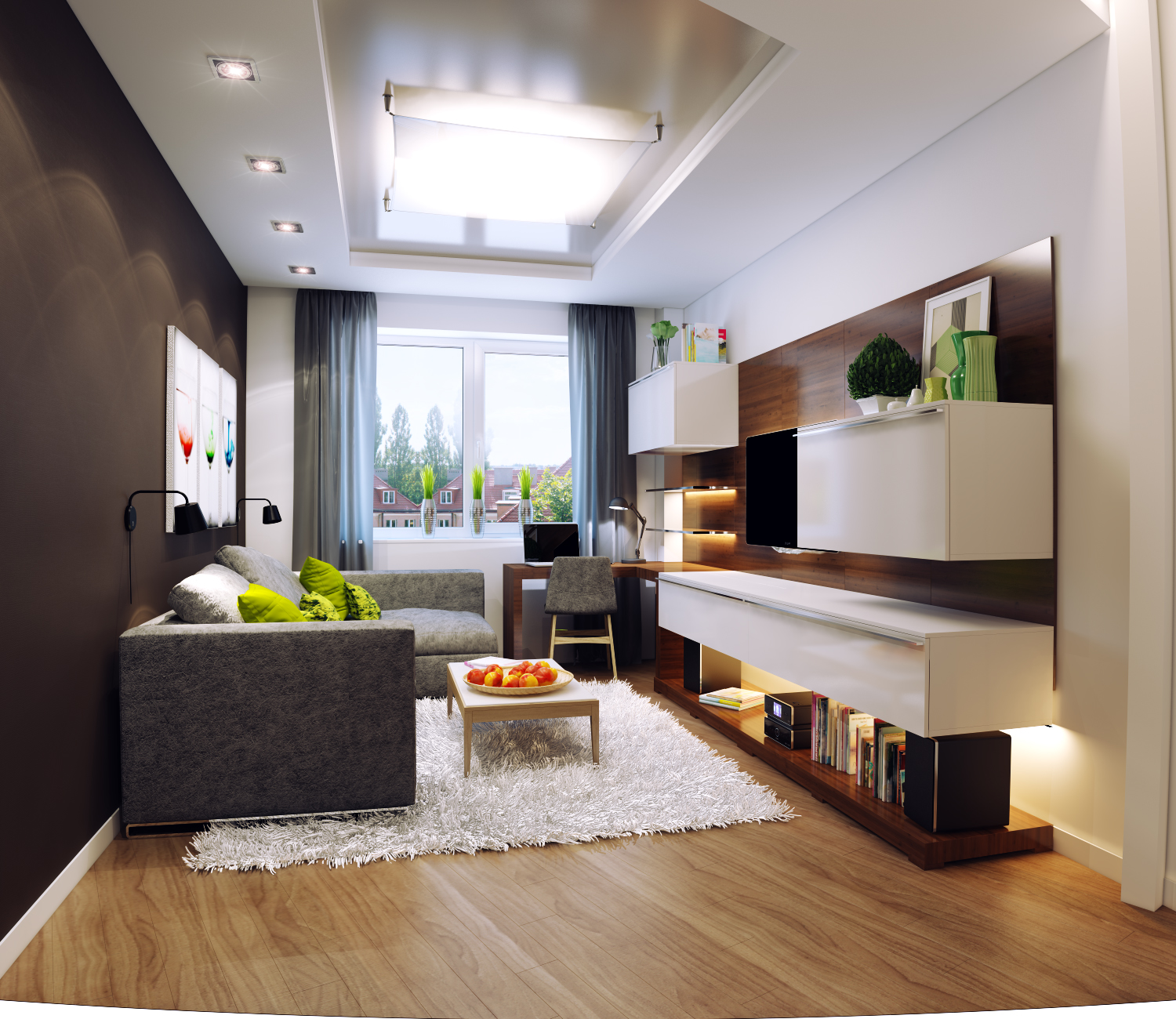 50 best small living room design ideas for 2018 for Wohnung dizayn