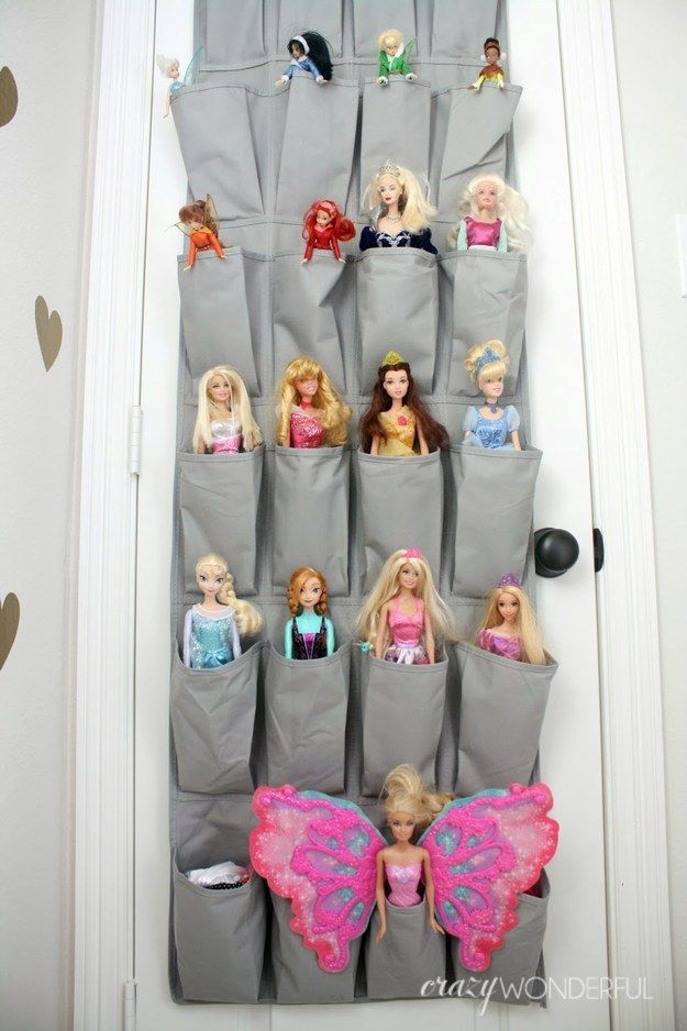 Over-the-Door Barbie Holder