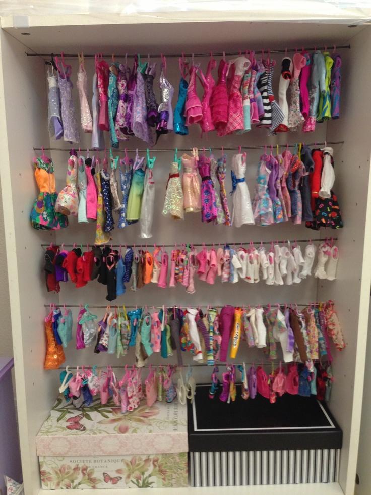Doll Clothes Closet