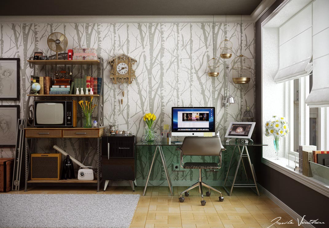 18 Impressive Home Office Design and Decor Ideas - Style Motivation