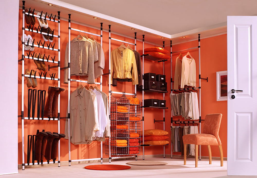 Perfectly Peachy Walk In Closet