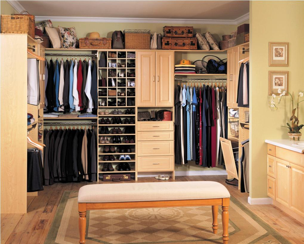 Two Options For Closet Anization