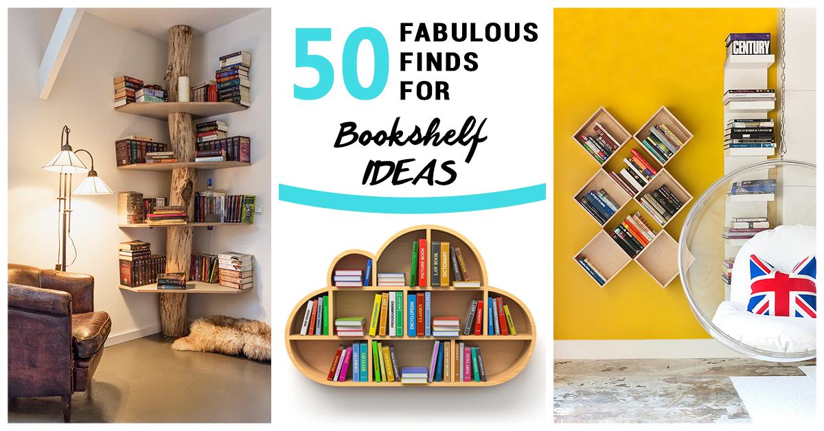 Bookshelf Ideas 50 best bookshelf ideas and decor for 2017