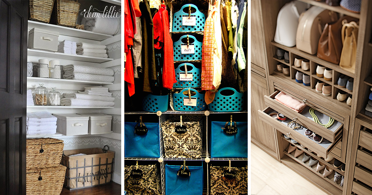 50 best closet organization ideas and designs for 2018 for Organizing ideas for closets