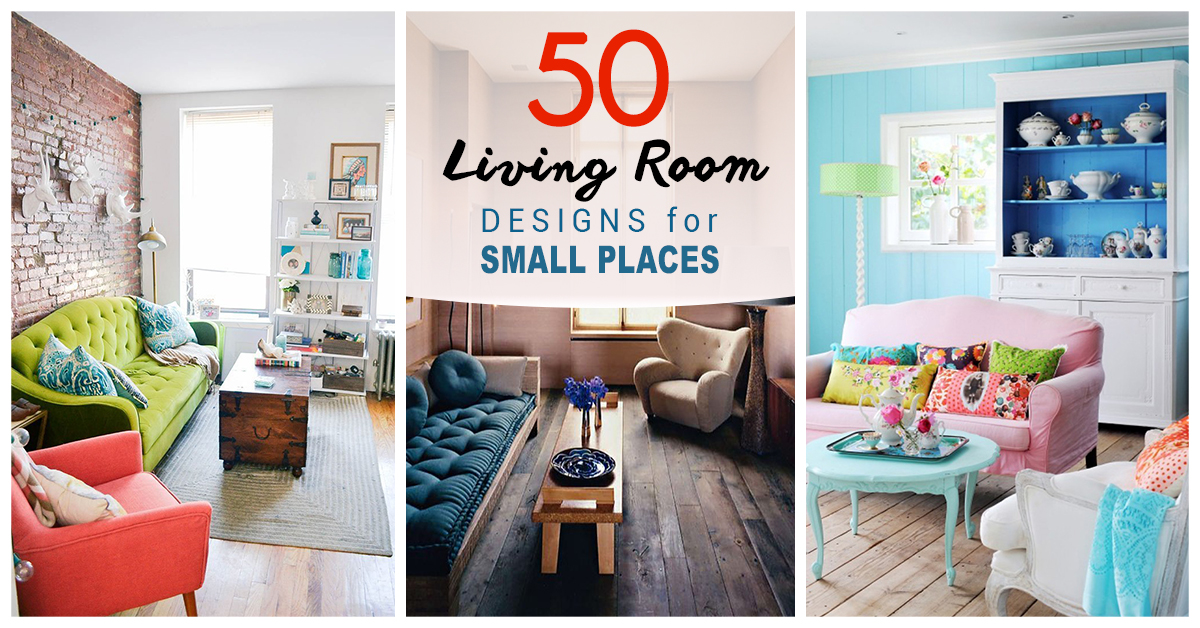 50 best small living room design ideas for 2018 - Decorating small spaces living room gallery ...