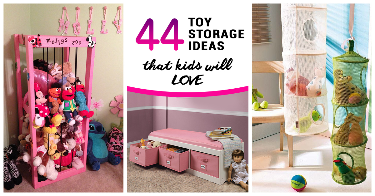 Best Toy Storage Ideas That Kids Will Love In - Barbie doll storage ideas