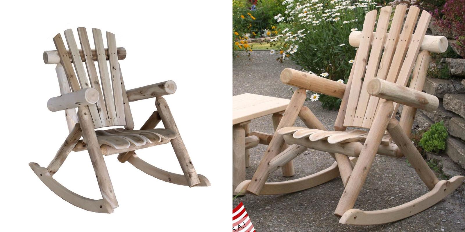 Patio Chair - Cedar Rocking Chair