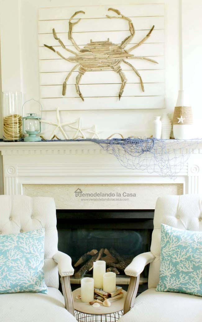 Nice Beach Themed Summer Decor For Any Room