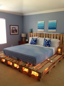 Anese Inspired Low Bed Frame Pallet Project