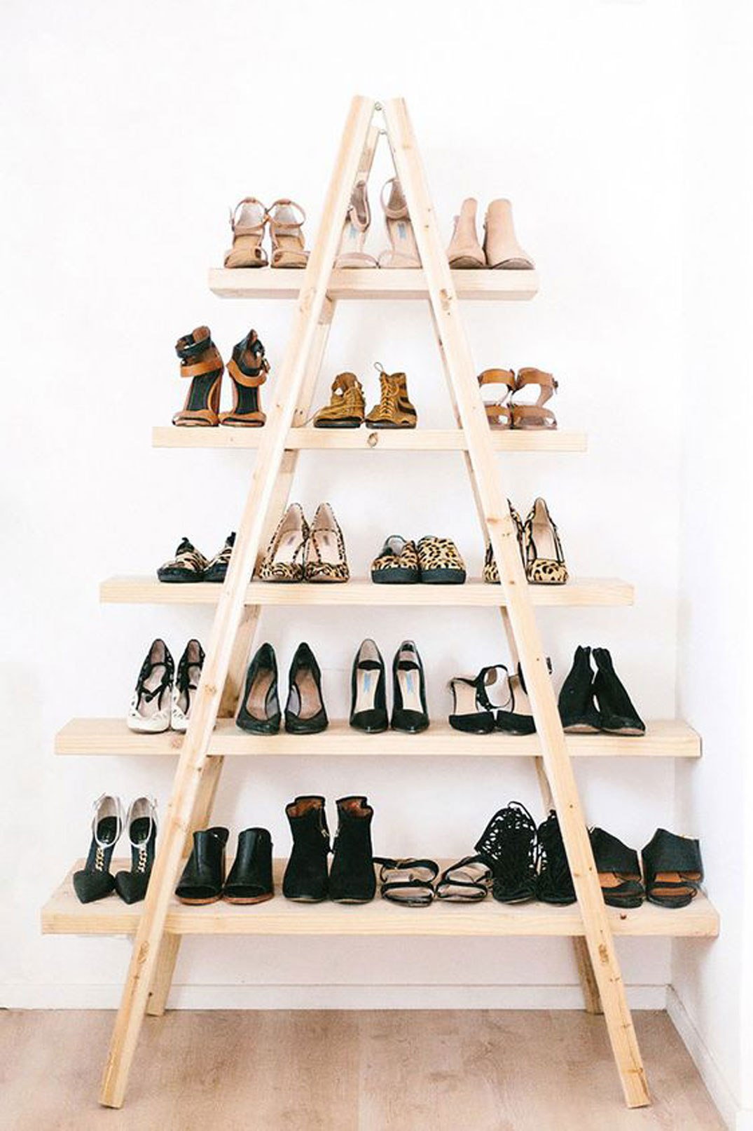 Shoe Pyramid Stairs 50 Best Shoe Storage