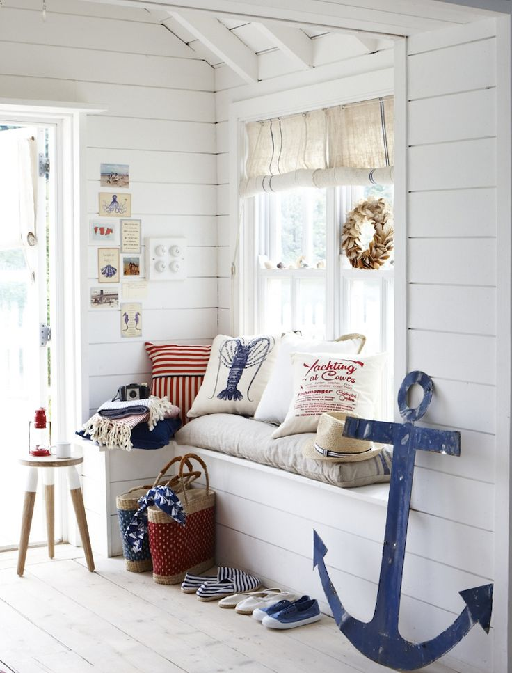 Superb Summer Home Decor Ideas Part - 1: Nautical Summer Decor
