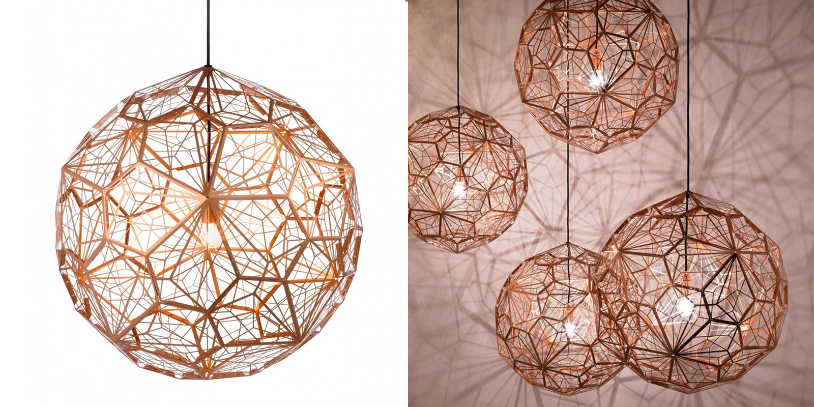 OCT Industrial Diamond Ball Light Fixture
