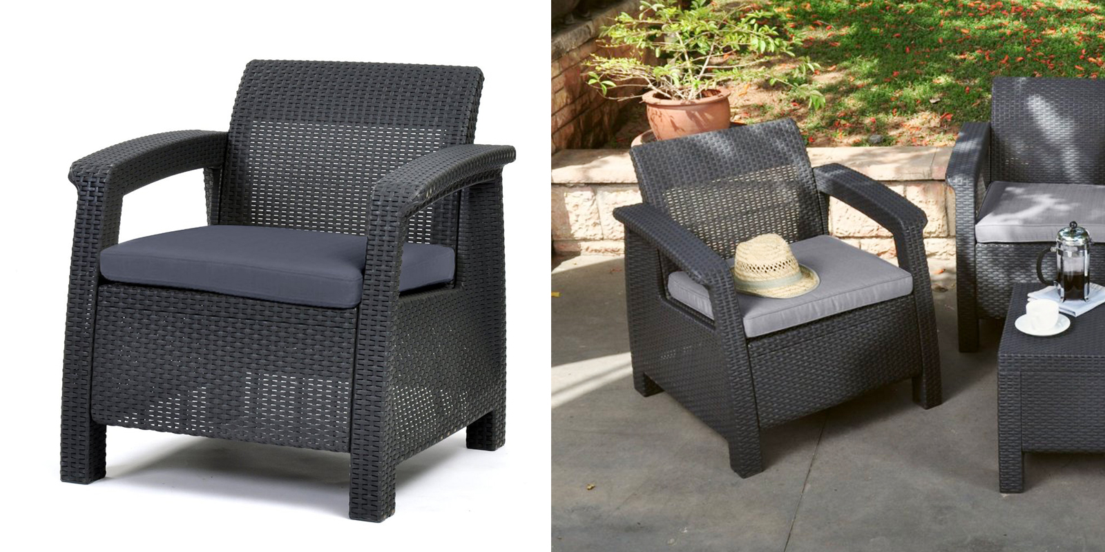 25 best patio chairs to buy right now for All weather garden chairs