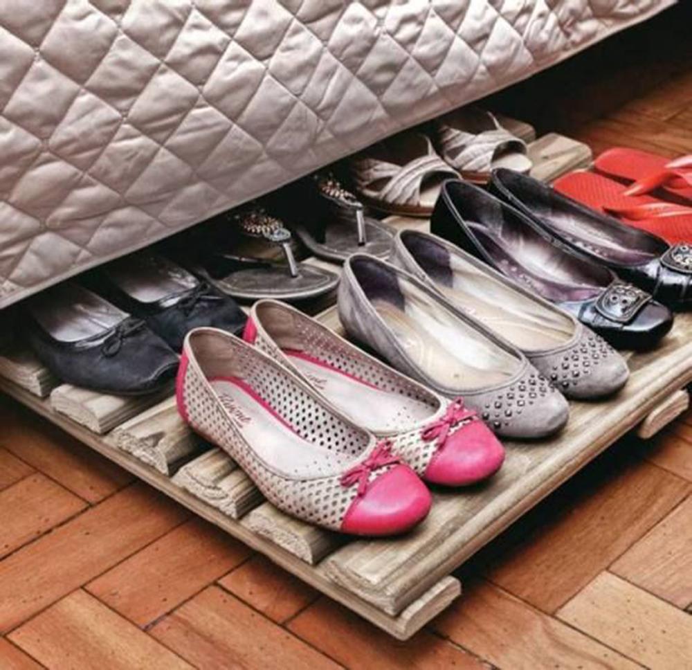 Shoe Organizer Ideas Part - 24: Floor Shoe Trolley