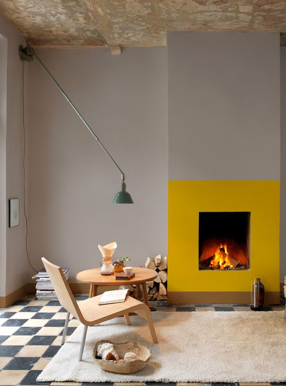 fireplace modern design. 16 Unique Modern Fireplace Design Ideas  Style Motivation