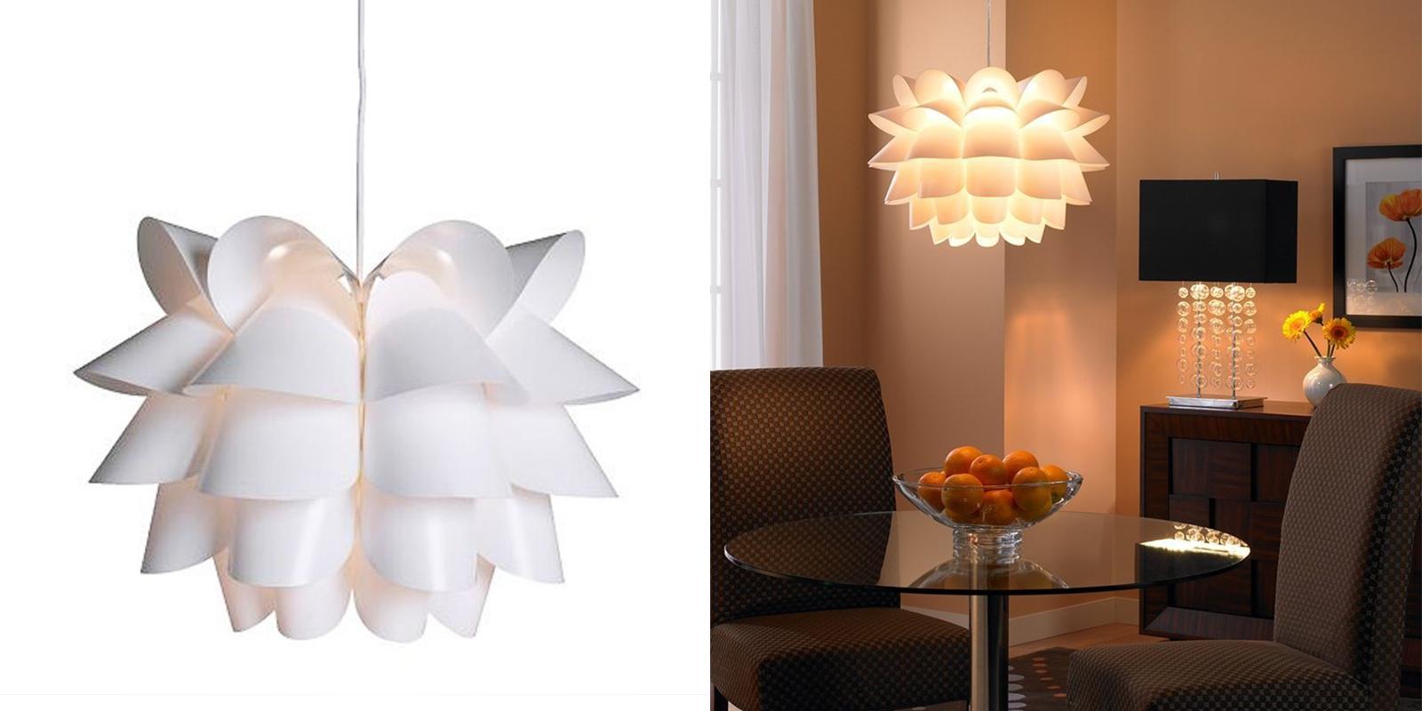 IKEA Floral Pendant Lamp