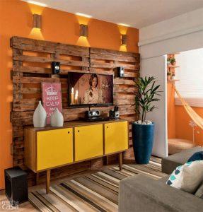Homemade Living Room Wall Back Splash — Homebnc