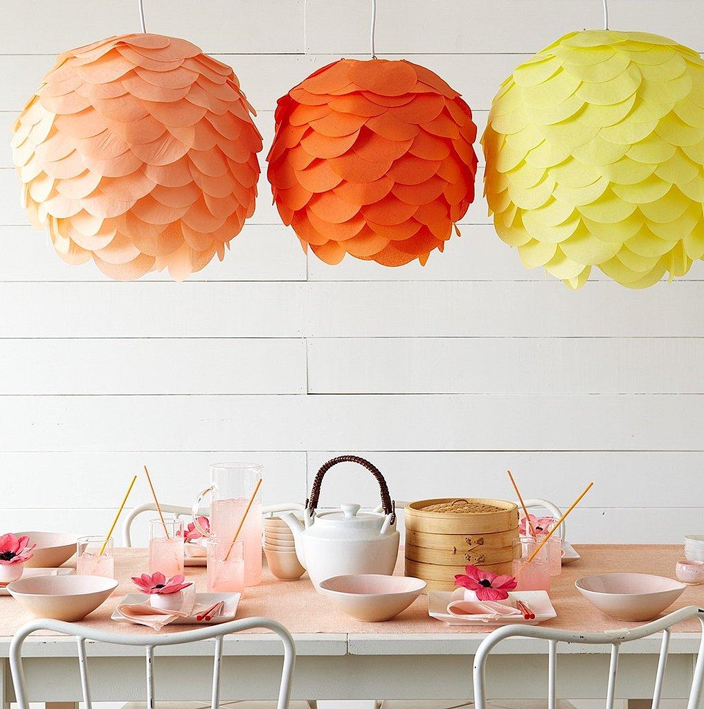 Home Decor Diy 6 tropical diy home decor ideas to bring island style vibe 9 Tissue Paper Lanterns
