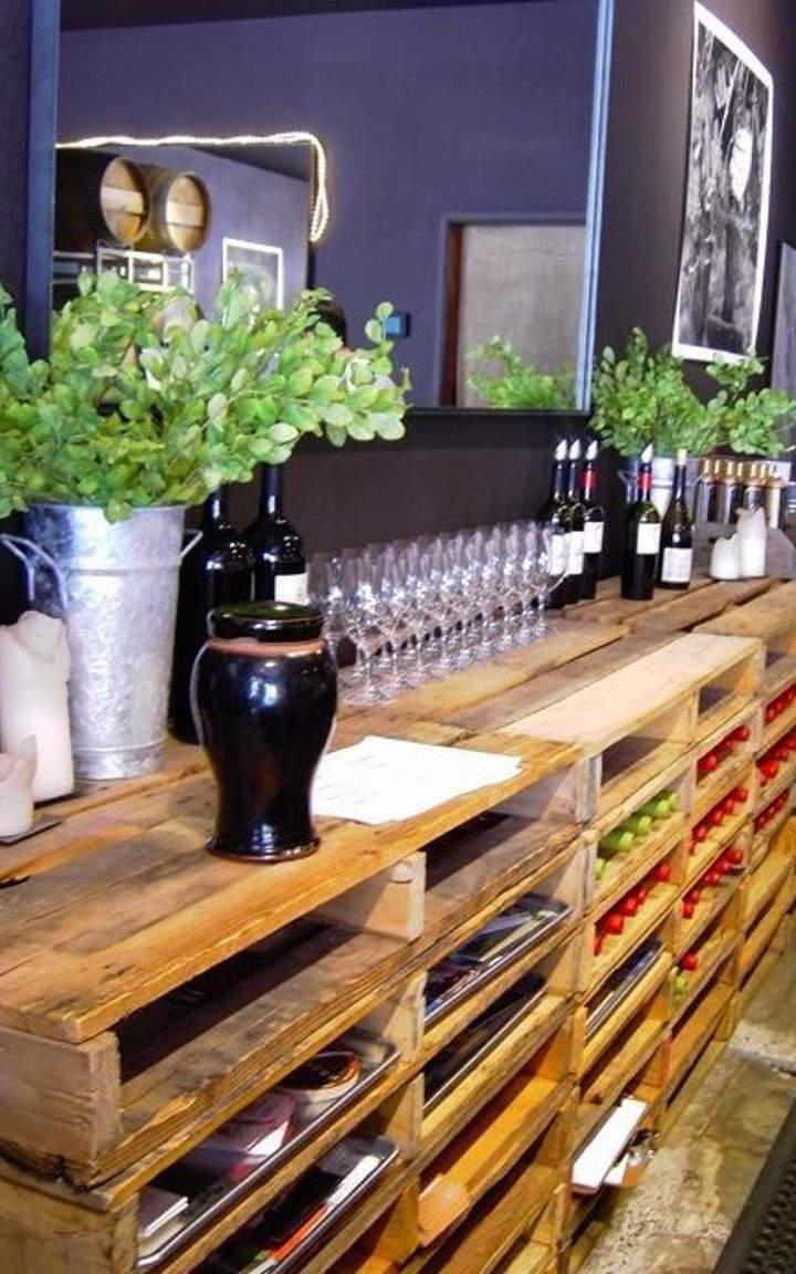 DIY Bohemian Back Bar