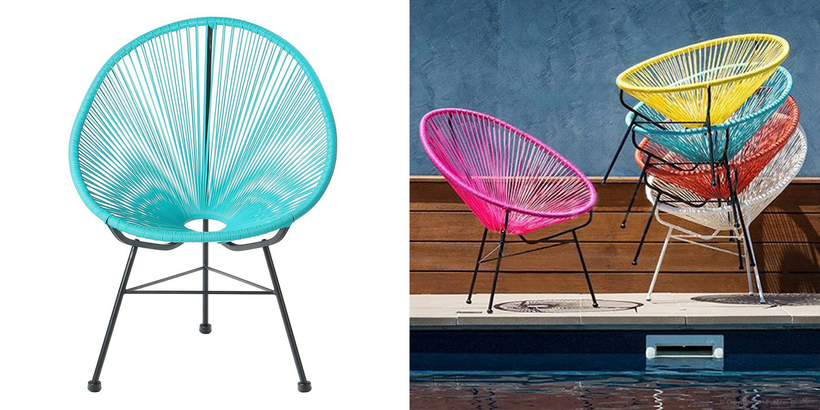 Patio Chair - Mayan Hammock Lounge Chair