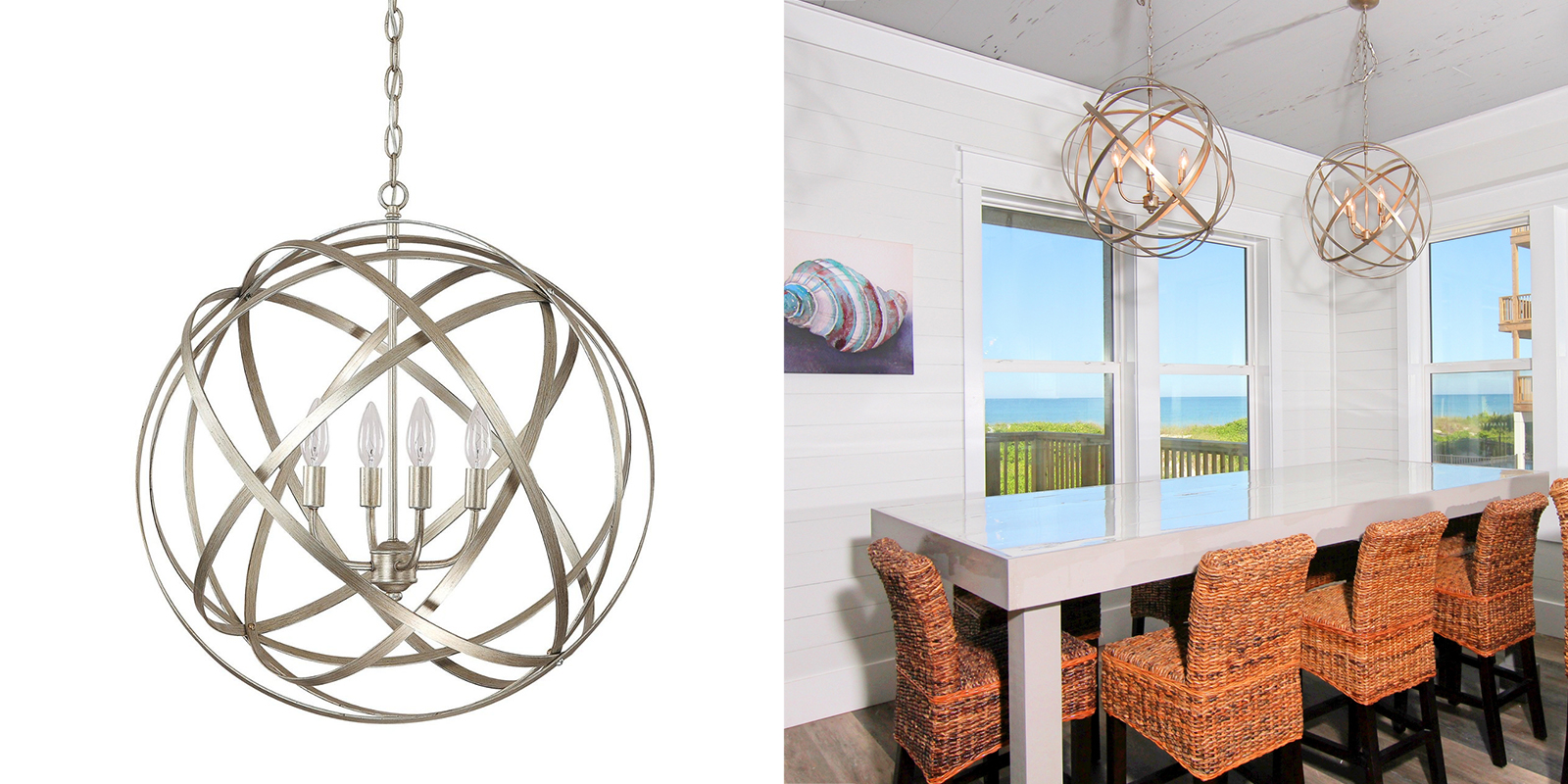 Capital Lighting Avant Garde Orb Chandelier