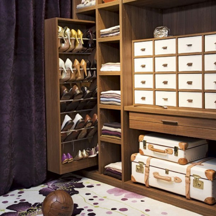 11 closet shoe cubby - Storage Design Ideas