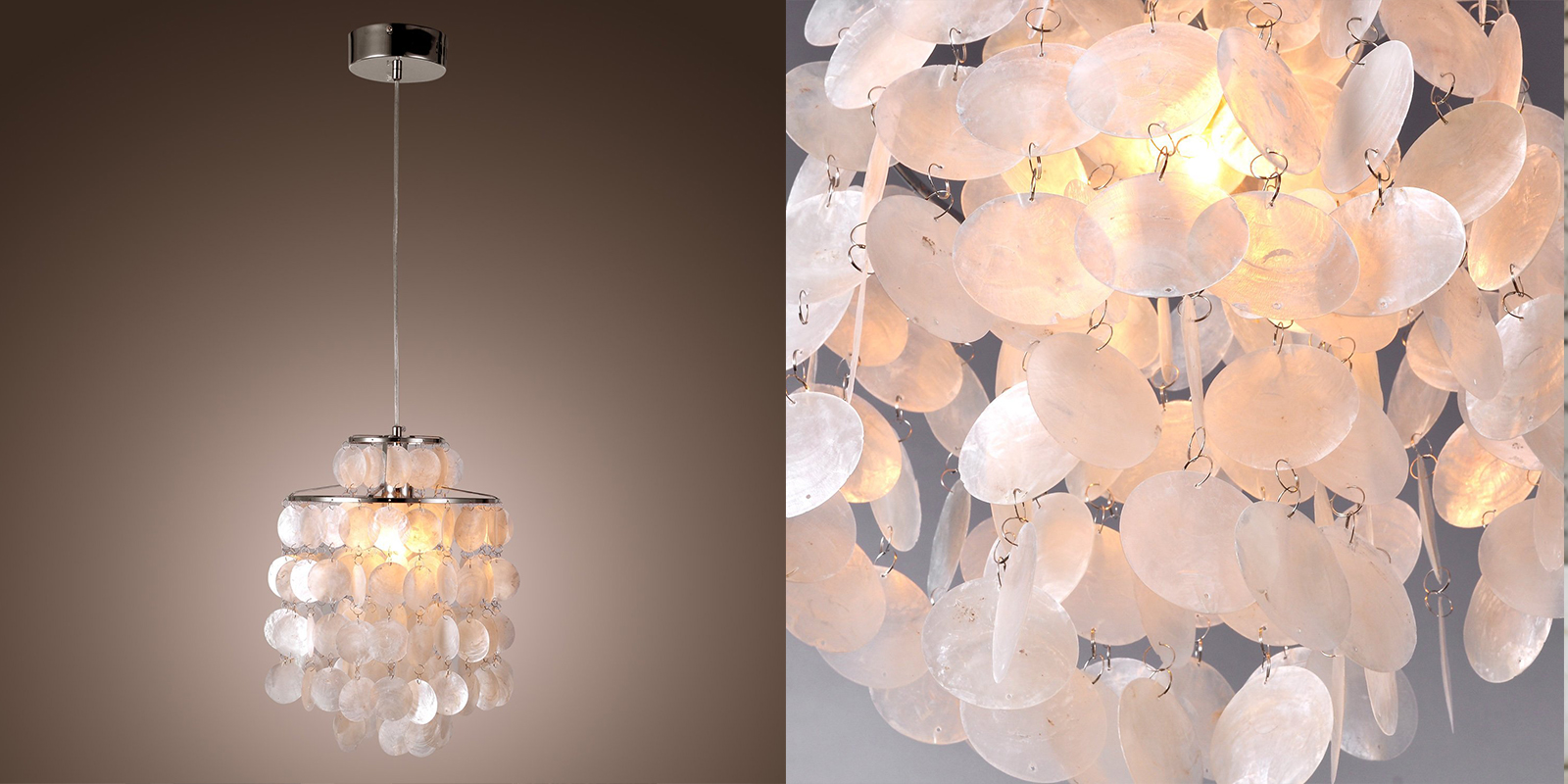 LightInTheBox Shell Pendant Chandelier