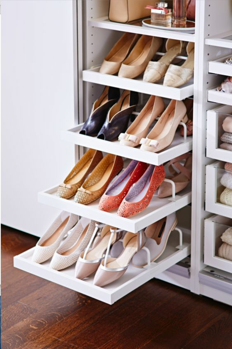 Shoe Rack Ideas Closet Classy 50 Best Shoe Storage Ideas For 2017 Inspiration