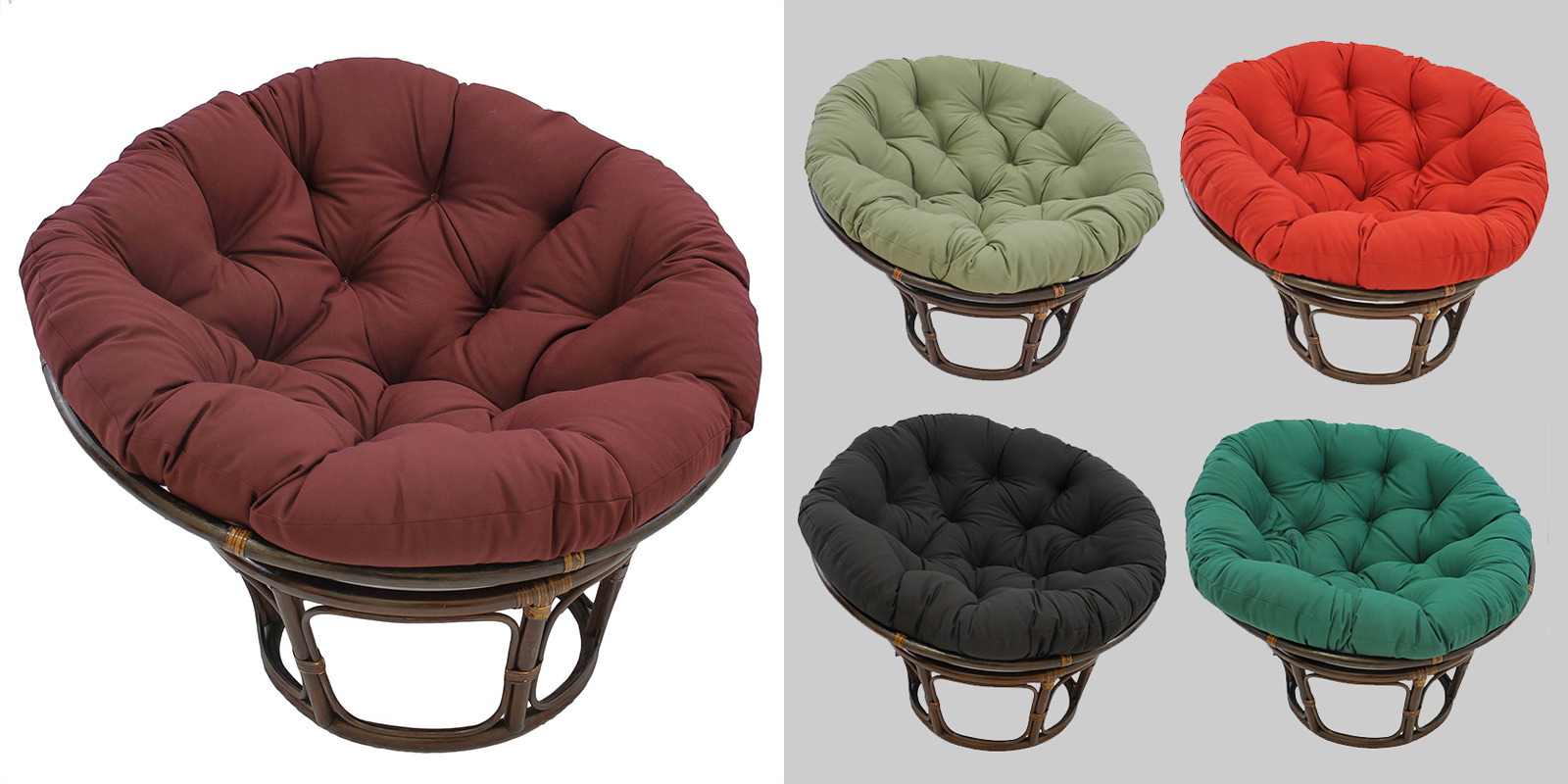 Patio Chair - Classic Papasan Chair