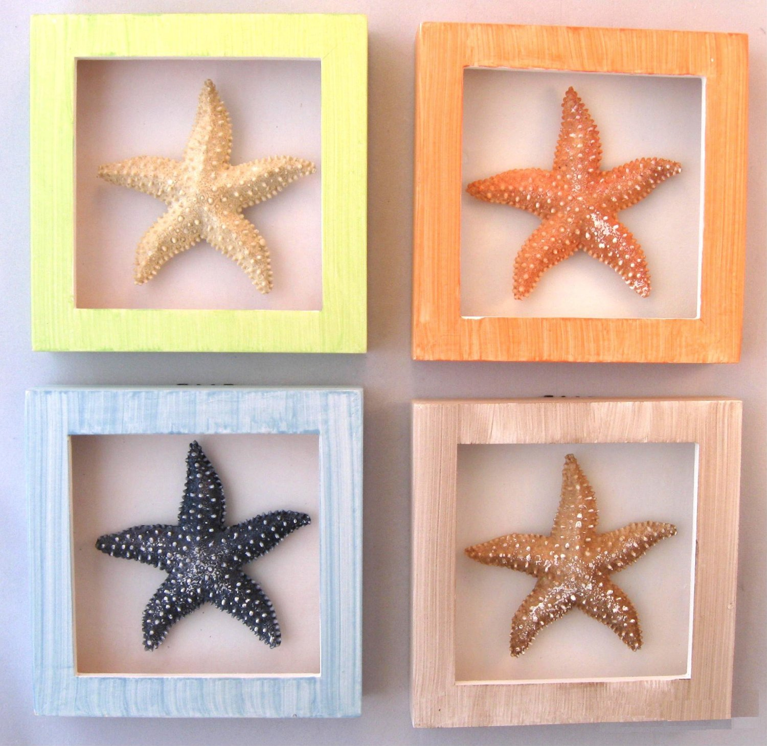 Perfect coastal shadow boxes