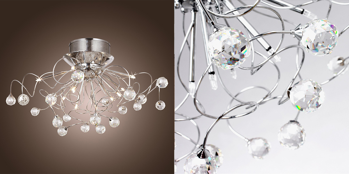 LightInTheBox Modern Crystal Chandelier