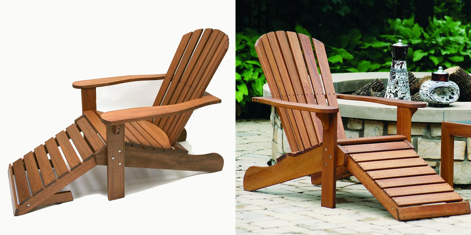 Patio Chair - Eucalyptus Adirondack Chair