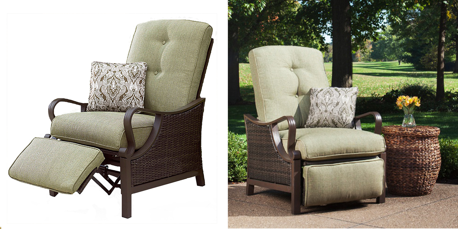 25 best patio chairs to buy right now for Reclining lawn chair