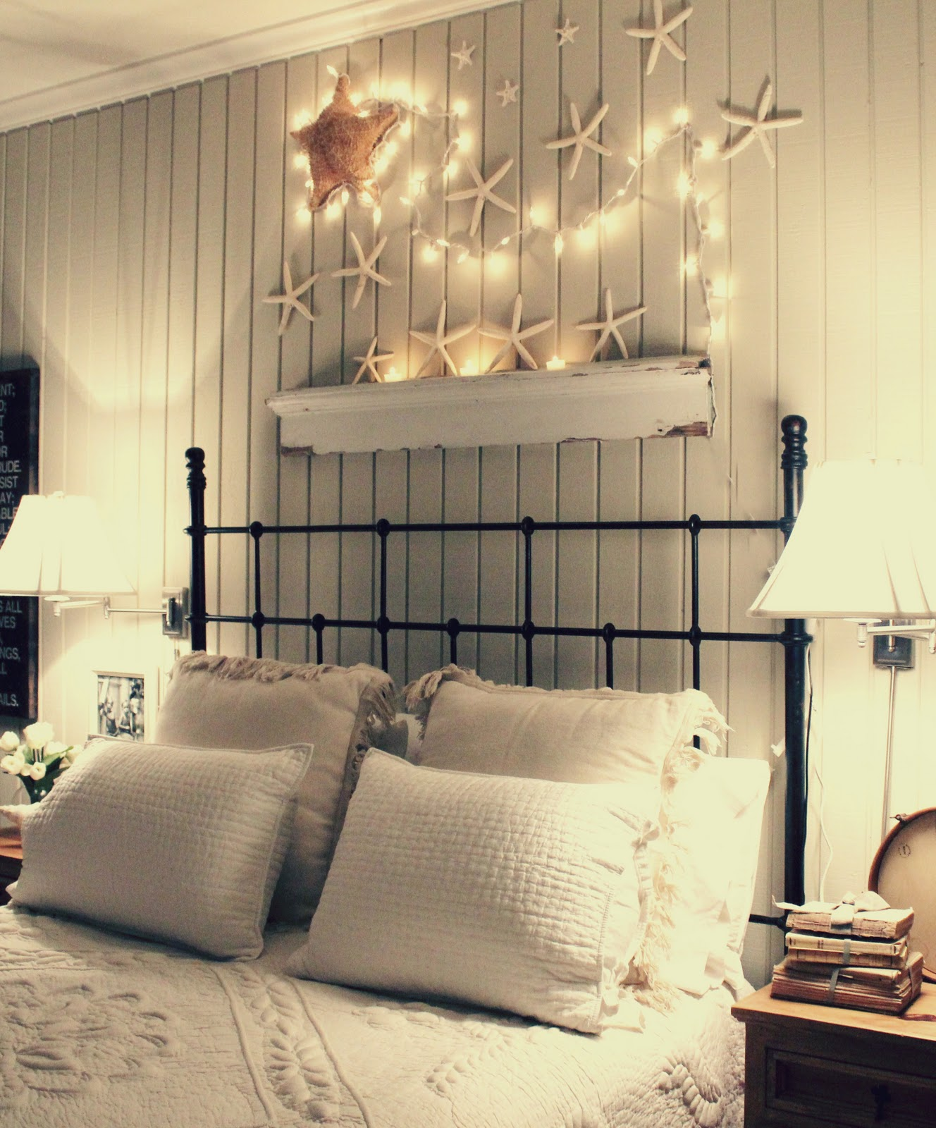 50 best home decoration ideas for summer 2017 for Seashell bedroom decor
